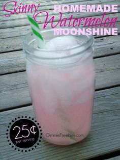 Skinny Watermelon Moonshine Recipe (Costs Only 25¢) | Moonshiners