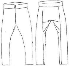 PANTS! All of the pants, all of the time. Excellent article documenting several different varieties of pants in the Viking Age.