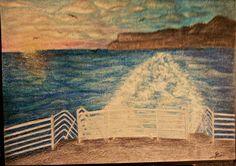 #Ferry #Trip #Sunset