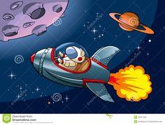 cartoon spaceship - Google-haku