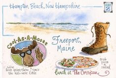 Everyday Artist: Sketches from Maine: Part 1 - On Our Way