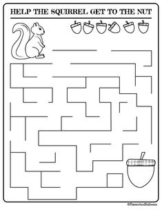 Supplement your Fall preschool lessons with these fun math, fine motor activities and fall coloring pages for kids. Perfect for thinking skills, pre-writing skills, cutting skills, fine motor skills and more! Activity Pages For Kids Free Printables, Preschool Activity Sheets, Mazes For Kids Printable, Fun Activities For Preschoolers, Fun Worksheets For Kids, Preschool Writing, Autumn Activities For Kids, Preschool Learning Activities, Kids Writing