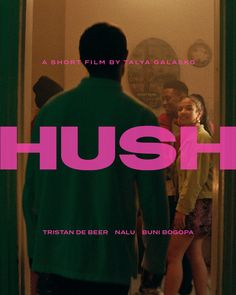 HUSH is an independent short film shot by and with women in South Africa – many of them survivors of… Graphic Design Layouts, Graphic Design Posters, Graphic Design Inspiration, Typography Design, Layout Design, Branding Design, Lettering, Title Card, Poster Layout
