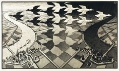 Day and Night - 14 obras de Escher que nunca nos cansamos de ver   Verne EL PAÍS