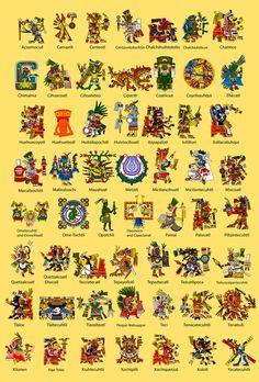 Aztec God Poster