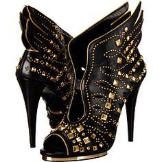 Roberto Cavalli Winged Althea Heel  |  shoes ( booties )