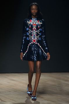 Pin for Later: Autumn in 100 Outfits: The Must-See Looks From the Major Fashion Weeks Mary Katrantzou Autumn/Winter 2014