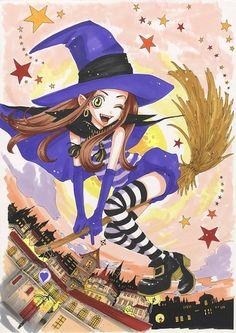 Sugar Sugar Rune -art Manga Love, Manga Girl, Anime Manga, Beautiful Fantasy Art, Funky Art, Anime Screenshots, Vintage Comics, Kawaii Cute, Anime Comics