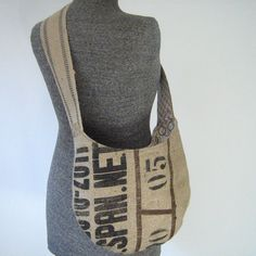 Hey, I found this really awesome Etsy listing at http://www.etsy.com/listing/117722396/recycled-burlap-coffee-bean-bag-hobo