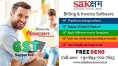 #Kriscent, #Saksham #Edumaster, #ITservices, #Webdevelopment, #finace, #Business, #GST, #Invoices Run your entire Business with Saksham Accounting & inventory software. It is an revolutionary one suit that solves all your business needs. Even for non-accountant it is very simple and interactive tool, simplify your GST based compliances, suitable for micro, small or even large scale business.  For more information about our services visit: www.saksham.kriscent.in visit our website…