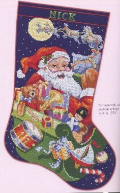 Leisure Arts Ultimate Stocking Collection - Cross Stitch Pattern. From the fabulous stocking designs created by the world famous artists at Kooler Design Studio