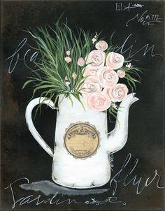 Julie Norkus: Hand Painted Art on Creatively Curated Goods Hand Painting Art, Diy Painting, Farmhouse Bathroom Art, Easter Paintings, Paisley Art, Unique Paintings, Rose Wallpaper, Diy Canvas Art, Chalkboard Art