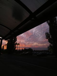 aesthetic sunset