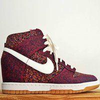 Nike Dunk Sky Hi Liberty Hidden Wedge Sneaker - $130