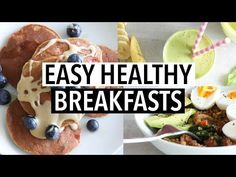 Hey you guys! Today I wanted to share my current favorite healthy breakfast recipes with you! This is what I have been eating and loving most lately. So I thoug Healthy Breakfast Recipes, Healthy Foods To Eat, Healthy Snacks, Breakfast Ideas, Healthy Eating, Savory Breakfast, Free Breakfast, Easy Delicious Recipes, Super Healthy Recipes