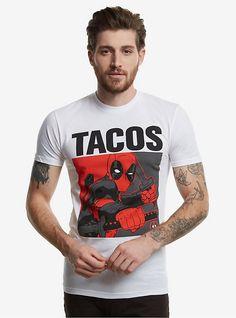 Marvel Deadpool Tacos T-Shirt, MULTI