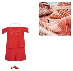 """""""Jumpsuits"""" by kediparcacigi ❤ liked on Polyvore featuring Topshop, Tiffany & Co. and Mansur Gavriel"""