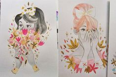 As ilustrações femininas de Sibylline Meynet | Just Lia