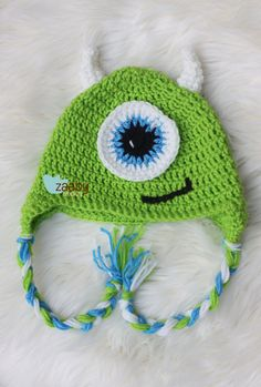 Crocheting With Mikey : Mikey the Monster Crochet Hat by yodera on Etsy, $18.50 Crochet hats ...