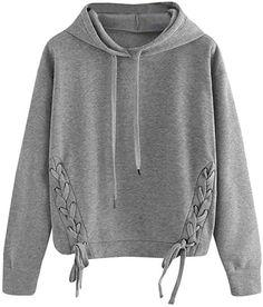 sunshineBoby Frauen Basic Kapuzenpullover Sweatjacke Pullover Hoodie  Sweatshirt Damen Lässige Langarm-Pullover Bluse Shirt Sweatshirt c9166f1f69