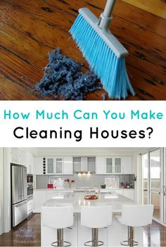 A few months ago, I needed a new house cleaner, and as I did my research online, I quickly realized that I could expect to pay as much as $85 per hour for a crew of two people to clean my house. I thought this was extremely ridiculous...but how much money can you expect to make cleaning houses?