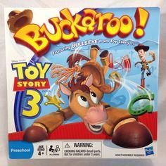 Buckaroo Game 100% COMPLETE Toy Story 3 Edition Featuring Bullseye #Hasbro