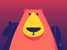 """다음 @Behance 프로젝트 확인: """"The Wilds for Sticker.Place"""" https://www.behance.net/gallery/42909391/The-Wilds-for-StickerPlace"""