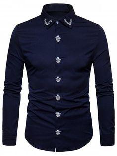 New Mens Caviar Dremes Long Sleeve Button Down Dress Shirt Light Green Collar