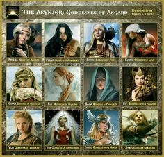 Goddesses of Asgard