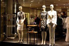 ESCADA windows at Bloor street, Toronto - Retail Design Blog» visual merchandising