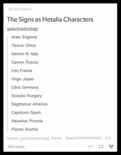 #zodiac #signs   wait so.. this austria mofo is basically the same sign as me? no way dude, totally not a pisces to me!