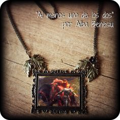 "Ooak☥Craft - 'Sans Merci' necklace > Collar ""Sans Merci"""