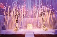 Wedding Ceremony Decor – Altars, Canopies, Arbors, Arches and Chuppahs. - Belle the Magazine . The Wedding Blog For The Sophisticated Bride