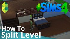 The Sims 4 Tutorial - How to Split Level (by The Sim Supply) / Check out more…