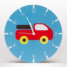 Lavmi nástěnné hodiny Bruno, modré