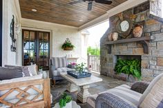 Looking for the best house plans? Check out the Elberton Way plan from Southern Living. Southern Living Homes, Southern House Plans, Country Living, Outdoor Rooms, Outdoor Living, Outdoor Decor, Outdoor Daybed, Outdoor Life, House With Porch