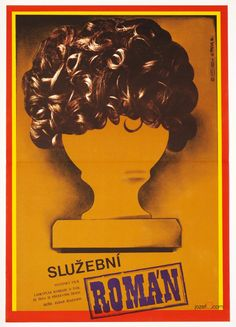 Wonderful surreal poster designed by Martin Dyrynk for 1977 Russian comedy Office Romance. Price: £39.00 #MoviePoster #Poster #Poster #Art #SurrealPoster #GraphicDesign #RussianCinema #PosterDesign #MartynDyrynk