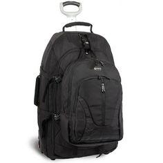 J World J World Hudson Rolling Backpack
