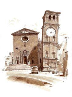 Urban Sketchers: Miracle Marker