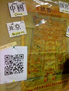 Learn Chinese .Teach Chinese. 紐約。教中文。筆記。: How to Create Wikipedia QR code 中文教學心得分享