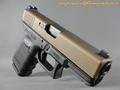 glock finishes | Glock 19 Gen4 9mm with FDE Cerakote Slide