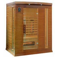 Sauna przeznaczona dla 2-3 osób, wykonana z drewna jodły kanadyjskiej, wyposażona w jonizator...