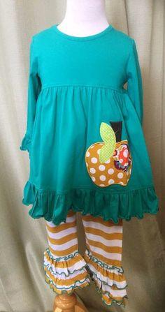 Natalie Grant Pumpkin Tunic Set