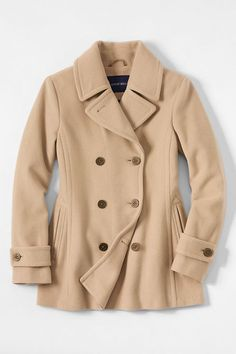 Details about AEROPOSTALE Womens Solid Peacoat Winter Wool Pea