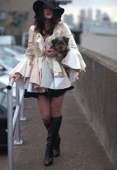 Creamy Tapestry 60's Dresscoat. Make, buy, sell - custom fit fashion - Stanfordrow.com