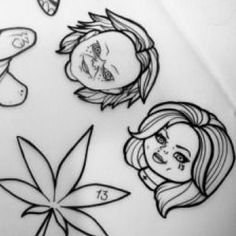 Chucky Tattoo, Inspirational Tattoos, Spooky Tattoos, Art Tattoo, Horror Tattoo, Doodle Tattoo, Movie Tattoos, Tattoo Stencils, Diy Tattoo