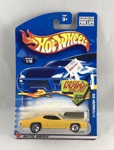 2000 Hot Wheels #171 /'56 Ford Truck on sqr card