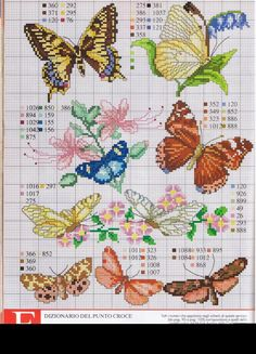Gallery.ru / Фото #1 - RAKAM - KIM-2 Butterfly Pattern, Butterfly Cross Stitch, Cross Stitch Bird, Cross Stitch Animals, Counted Cross Stitch Patterns, Cross Stitch Flowers, Cross Stitch Designs, Cross Stitch Charts, Cross Stitching