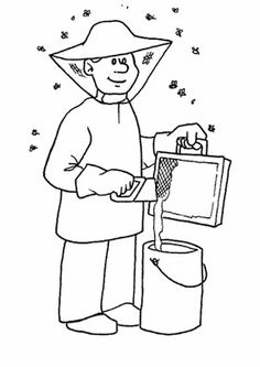 Jobs Printable Coloring Pages 43