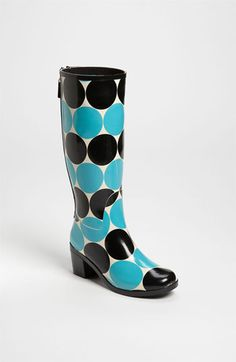Kate Spade 'Rainey' Rain Boots - These would make splashing in puddles so much more fun!